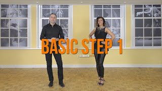 Salsa Beginners 1 - SaĮsa Basic Step for the Absolute Beginner - Detailed explanation