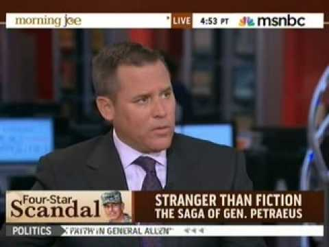 Vince Flynn on David Petraeus, Afghanistan and Mitch Rapp (Morning Joe, MSNBC)