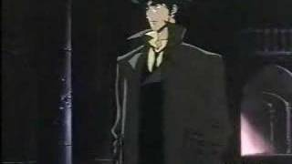 A clip from Cowboy Bebop that uses the song Rain in the background.
