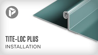 Metal Roofing - How to install Tite-Loc Plus Standing Seam Panel