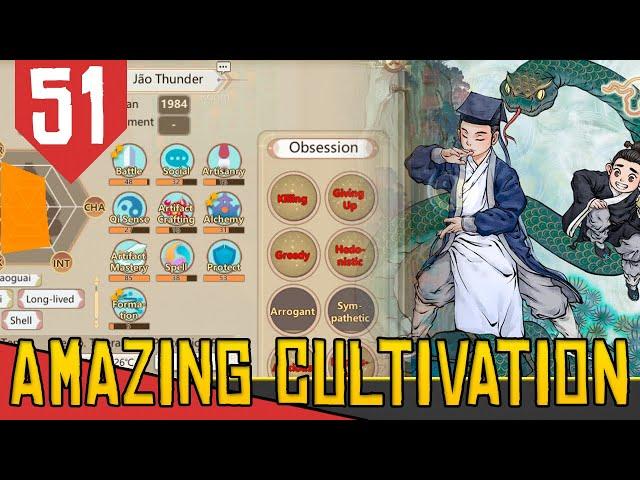 SET DE CULTIVO e SHENDAO OBSESSIVO - Amazing Cultivation Simulator Immortal #51 [Gameplay PT-BR]