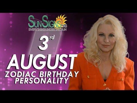 Leo Zodiac Facts - 3rd August Birthday Horoscope