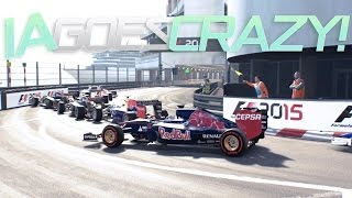 f1 2015 codemasters glitch   ai goes crazy at monaco 1080p