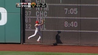 Revere makes a leaping catch to rob Rendon