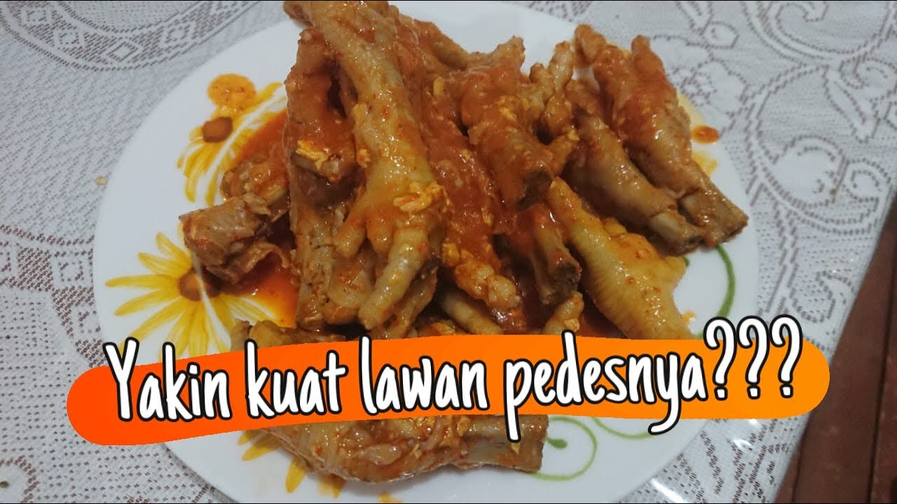 Qal S Kitchen Resep Ceker Jontor Bikin Ketagihan Youtube