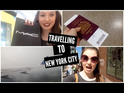 New York Day 1: Travelling, Airport shopping & Finding Food
