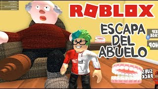 Evil Grandfather in Roblox ESCAPE FROM THE CRAZY ABUELO ? Roblox Obby Chapter 6