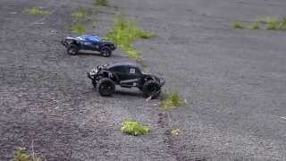 Traxxas Slash 4X4 speed racing with revenge for dirty tactics!