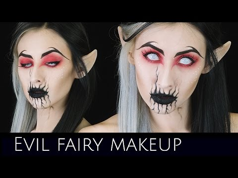 Evil Fairy Makeup Tutorial | Collaboration with ...