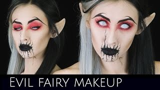 Evil Fairy Makeup Tutorial | Collaboration with Bloodshedbeauty .x | Courtney Little