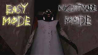 Granny Easy Mode In Nightmare Mode
