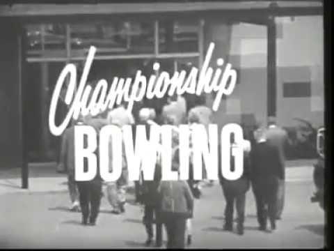 Championship Bowling: Tom Tuttle vs Bill Bunetta 1964-1965