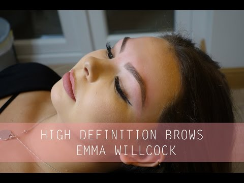 HIGH DEFINITION BROWS & HOW TO FINISH BROWS | EMMA WILLCOCK
