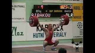 Andrei Rybakov World Record 182.5kg Snatch