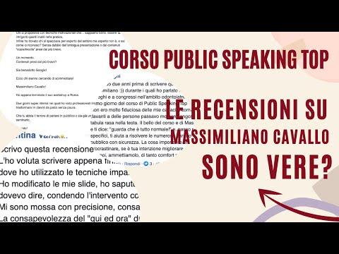 Immagine per [Video 4] Le recensioni del Corso Public Speaking Top sono vere?
