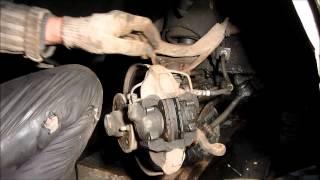 Замена задних и передних тормозных колодок на ВАЗ 2107 видео