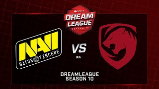 Na`Vi vs Tigers, DreamLeague Minor, bo5, game 1 [Godhunt & Casper]