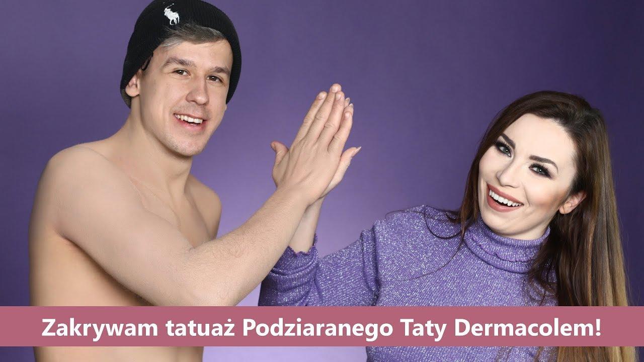 Zakrywam Tatuaże Podziaranego Taty Dermacol Makeup Cover Da Radę Jak Zakryć Tatuaż