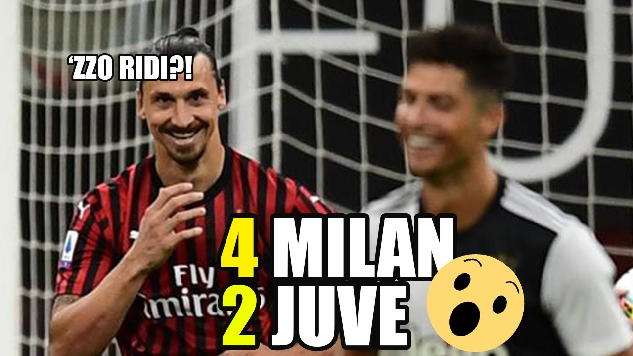 INCREDIBILE! RIASSUNTO MILAN-JUVENTUS 4-2 | DRAW MY MATCH |