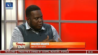 Nigeria Risk FIFA Ban Over NFF Leadership Row - Sports Journalist Pt 5 | Sunrise Daily |