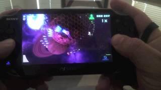 PS Vita Super Stardust Delta Hands on Gameplay