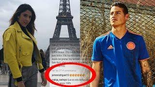 James se Delató - El Mensaje de Daniela Ospina al que James Rodriguez NO se Pudo Resistir