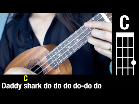 baby-shark-🦈-chords---easy-tutorial