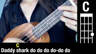 baby shark   chords - easy tutorial