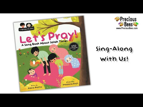 Let's Pray! A Song About Salah Times | Islamic Song For Kids [No Music]