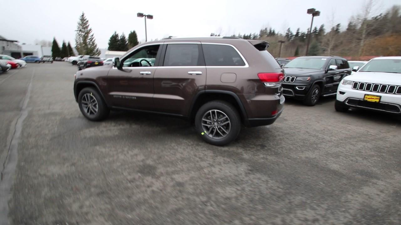 2017 Jeep Grand Cherokee Limited | Walnut Brown | HC742141 ...