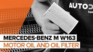 Watch the video guide on MERCEDES-BENZ M-CLASS (W163) Multi v belt replacement