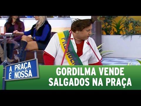 A Praça é Nossa (02/06/16) Gordilma vende salgados na praça