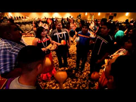 Tohono O'Odham Youth Council shares a social song and a give away