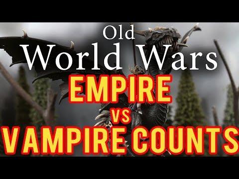 Empire vs Vampire Counts Warhammer Fantasy Battle 8th Edition - Old World Wars Ep 285