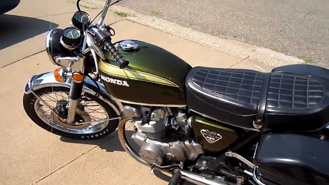 1972 honda cb450 in wisconsin sold youtube. Black Bedroom Furniture Sets. Home Design Ideas
