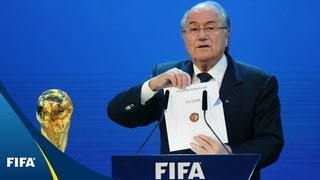 2018 FIFA World Cup host named