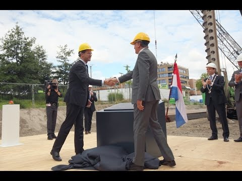 Foundation stone laying for EPO's new building in Rijswijk