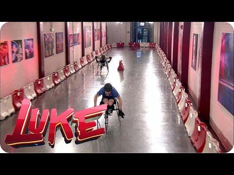 Rennrollstuhl Wettrennen - Fit für Olympia LUKE! Die Woche und ich
