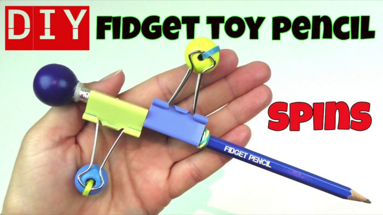 Toys For School : Diy fidget toys how to make a toy pencil