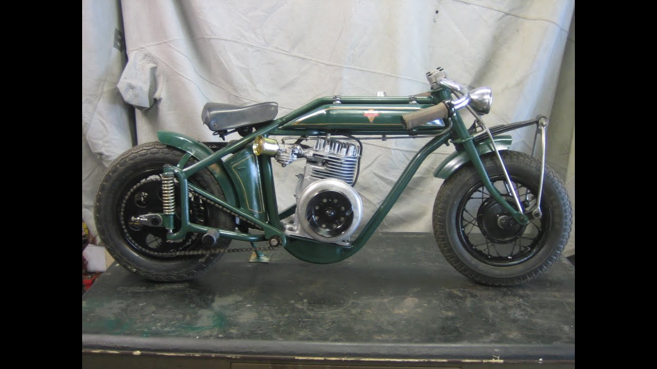 Vintage Clinton Minibike Teardown Buildup And First Ride Youtube
