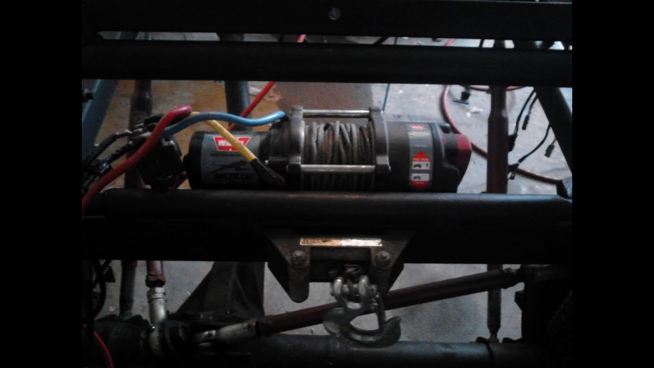 medium resolution of small winch test for the new golf cart winch
