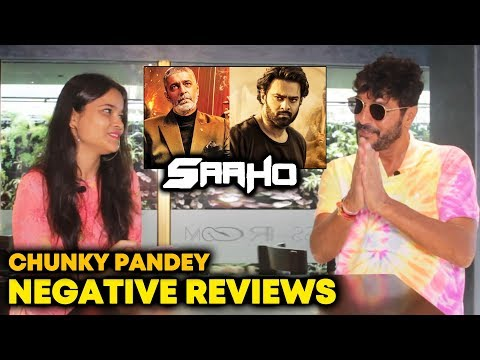 SAAHO Villain Chunky Panday REACTION On Negative Reviews | Critic Proof Star Prabhas Mp3