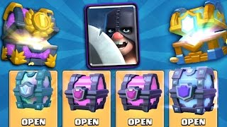 OPENING ALL MY FREE LEGENDARY & BEST CHESTS IN CLASH ROYALE! + Executioner Strategy Talk!