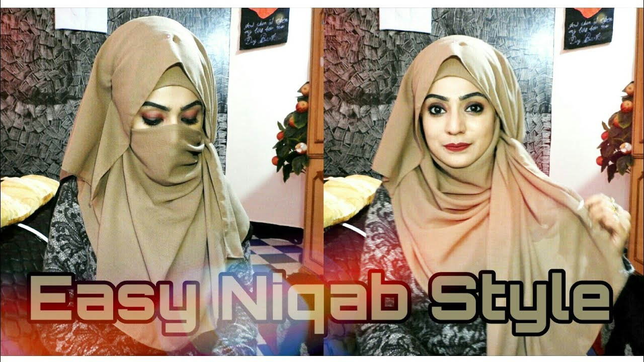 Most Requested Easy Niqab Style