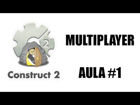 Construct 2 - Multiplayer AULA 1 | CONECTANDO JOGADORES