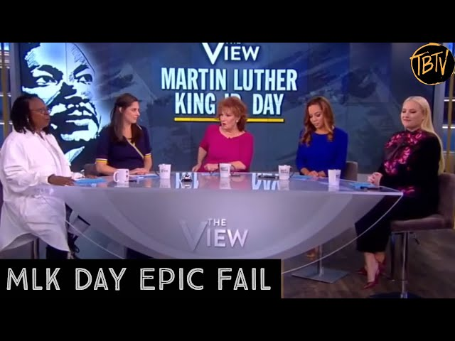 The View's Epic MLK Day Fail | Tim Black