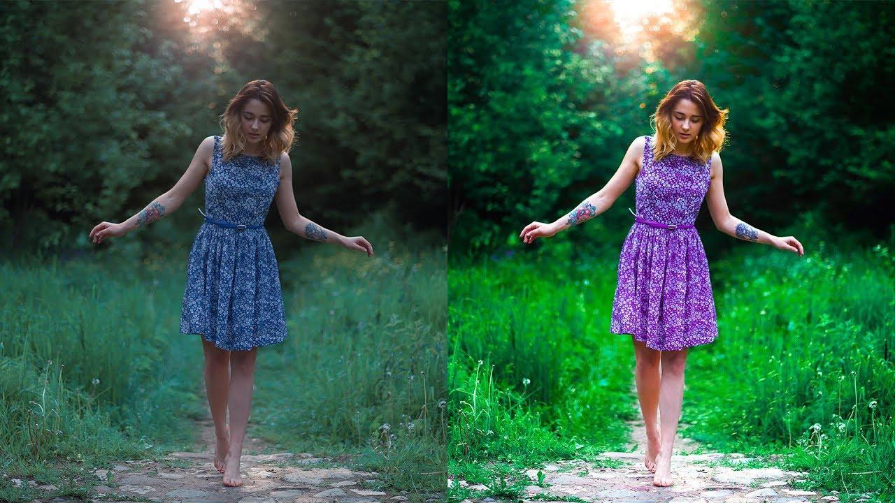 цветокоррекция фото чистые цвета бобтейл отличается широкоугольной