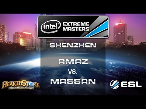 Amaz vs. MaSsan - Quarterfinals - IEM Shenzhen - Hearthstone