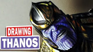 Draw a realistic THANOS in just 7 hours - no breaks