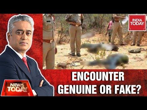 Hyderabad Encounter: Shootout